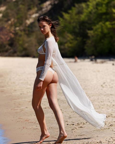Catalina white nohavičky